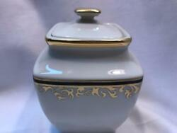 Lenox Discontinued China Eclipse Covered Sugar Bowl New