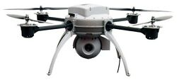 Aeryon Scout Miniature Unmanned Aerial Uav Aircraft Desktop Wood Model Small