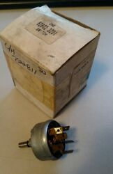 Volvo 62802-3201 Switch - Same As Cole Hersee 7522811 - Nos