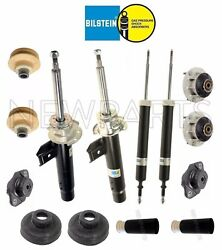 For Bmw E90 3-series Sedan Complete Front Struts And Rear Shocks Mount Kit B4 New