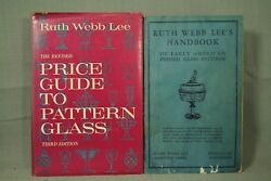 Ruth Webb Lee's Handbook Of Early American Pressed Glass Patterns 2 Old Books