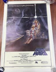 Original 1977 Star Wars Movie Poster 27