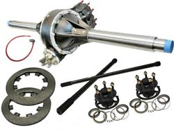 Max Option Black Low Drag Qc Rear End Kit With Rem, Thermal Gn Lw Hubs And Rotors