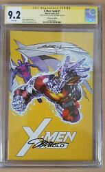 X-men Gold 1 2017 Signed By Jim Lee And Scott Williams 11,000 Variant 9.2 Cgc