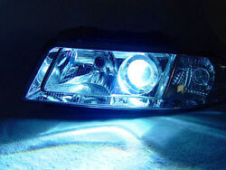 DEPO Canbus Xenon HID Chrome Ecode Projector Headlight For 99-01 Audi A4 B5.5