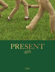 Exo [present Gift] 204p Photo Book+post Card+store Gift+tracking K-pop Sealed