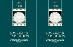 1998 Lincoln Navigator Ford Expedition Shop Service Repair Manual