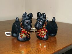 Scottie - Scottish Terrier - Scotty Christmas Tree Ornaments