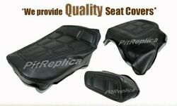 Honda Gl500 I And03981-and03982 Heat Embossed Rider Pillion Rest Seat Cover [hsos-a/s/o]