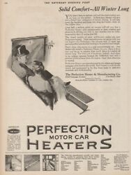 1923 Perfection Motor Car Heater Cleveland Ohio OH Antique 1920s Automotive Ad
