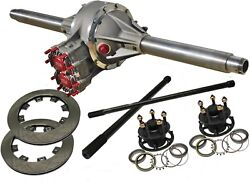 Lo Drag Pem Quick Change Rear 4.86 Gn 5 X 5 Assy With Solid 31 Spline Axles