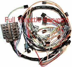 1963 Corvette Wiring Harness Dash Without Back-up Lights Us Reproduction C2 New