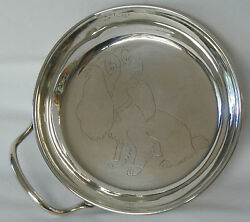 Sanborns Mexico Sterling Silver Porringer Lady And The Tramp Dog