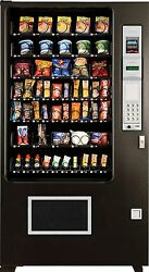 2 X Candy Chip & Snack Vending Machine AMS 45 Select Vendor CoinBill Changer
