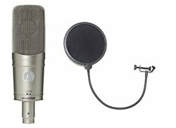 AUDIO - TECHNICA AT 4047 MP condenser microphone with pop filter