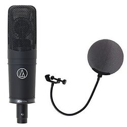 AUDIO-TECHNICA AT 4060a Microphone with metal pop filter