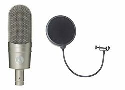 AUDIO-TECHNICA AT 4080 Ribbon microphone with pop filter