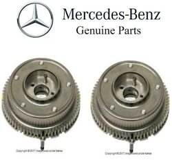 For Mercedes R230 R171 W203 Pair Set Of 2 Exhaust Camshaft Timing Adjusters Oes