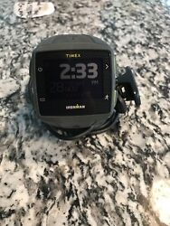 Timex One Gps+ Ironman Gray And Lime Green Tw5k89000f5 Instafix