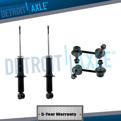 Dodge Caliber Jeep Patriot Compass Shocks Absorbers + Sway Bars Fits Rear Sides