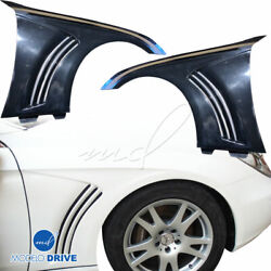Frp Wal Fenders Front For Mercedes-benz Cls-class W219 06-08 Modelodrive