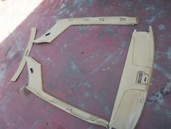 72-81 Mercedes 350 450 Slc Coupe Sail Panels Front And Rear Headliner Pieces Beige