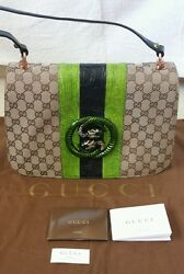 GUCCI GENUINE CROCODILE & CANVAS TOM FORD BAG - Authentic Limited Ed Pre-owned