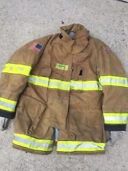 Firefighter Globe Turnout Bunker Coat 42x35 G-xtreme No Cut Out 2011