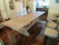 Reclaimed Wood Dining Or Kitchen Table Custom Madecountryshabby Chicvintage