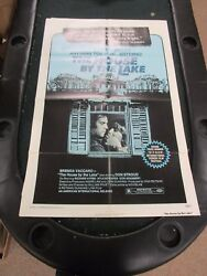 Vintage 1 Sheet Movie Poster House By The Lake 1976 Brenda Vaccaro Don Stroud