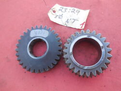 Porsche 911 915 Transmission Gear Set 3rd And 4th Speed Nt 2329 Matching  1