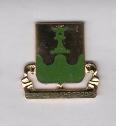 Us Army 519th Military Police Battalion Mp Crest Dui Badge C/b D-22
