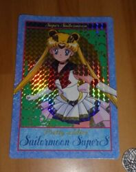 Sailormoon Super S Jumbo Carddass Card Prism Carte Pretty Solider 1 Japan 1995