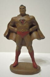 1940and039s Superman Syroco Statue Re-issue W Professional Paint Rare