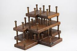 12 Wooden Decoy Stands Regular Height Made In Usa Donand039t Remove The Weights