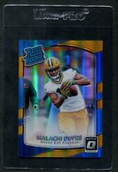 2017 Malachi Dupre Donruss Optic 197 Rated Rookie Gold /10 8879