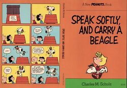 PEANUTS ORIGINAL BOOK COVER PROOF 1975 SNOOPY BEAGLE C BROWN CHARLES SCHULZ ART