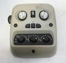 03-06 GMC YUKON REAR A/C HEATER TEMPERATURE CLIMATE CONTROL DOME LIGHT LAMP