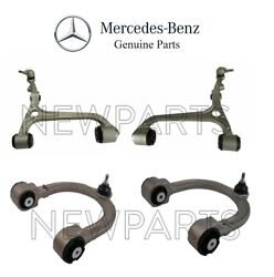 For Mercedes W211 E-class 4matic Set Of Front Lower And Upper Control Arms Genuine