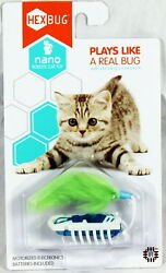 HEXBUG Nano Robotic Cat Toy - Plays Like A Real Bug - COLORS VARY