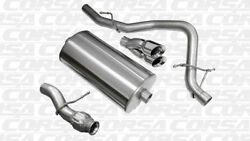 Corsa Cat-back Exhaust Single Rear Exit Polished For Chevy Tahoe 5.3l V8