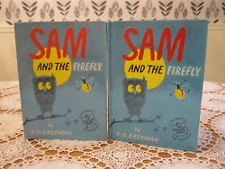 SAM and the FIREFLY PD Eastman Seuss Suess 1958 HCDJ 1st Printing Beginner Book