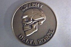 Army Delta Force, Black Ops, 3d, Bronze , Challenge Coin
