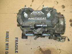 2000 ARCTIC CAT ZR 500 CARB ENGINE ZR500 ZL MOTOR 2000