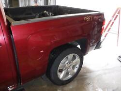2014-2019 Chevy Silverado 1500 Truck Bed 5and039 9 Shortbed 5 Foot Bed Maron 412p