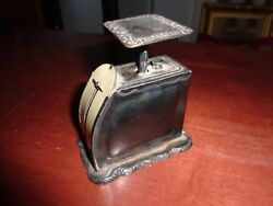 Antiquepelouze Late 1800and039s Sterling Silver 925 Postal Scale Marked