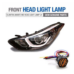 Oem Parts Projection Led Drl Head Light Wire Lh For Hyundai 2011-2016 Elantra Md