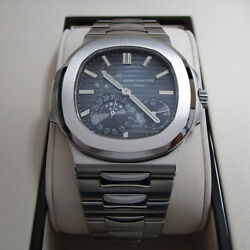 Patek Philippe BRAND NEW 5712 Nautilus Steel Watch BoxPapers 57121A-001