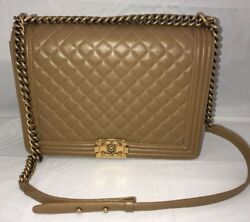 *Chanel* Large Brown La Boy
