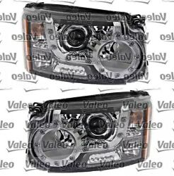 Bi-xenon Led Afs Headlight Front Lamp Set Fits Land Rover Discovery Suv 2009-